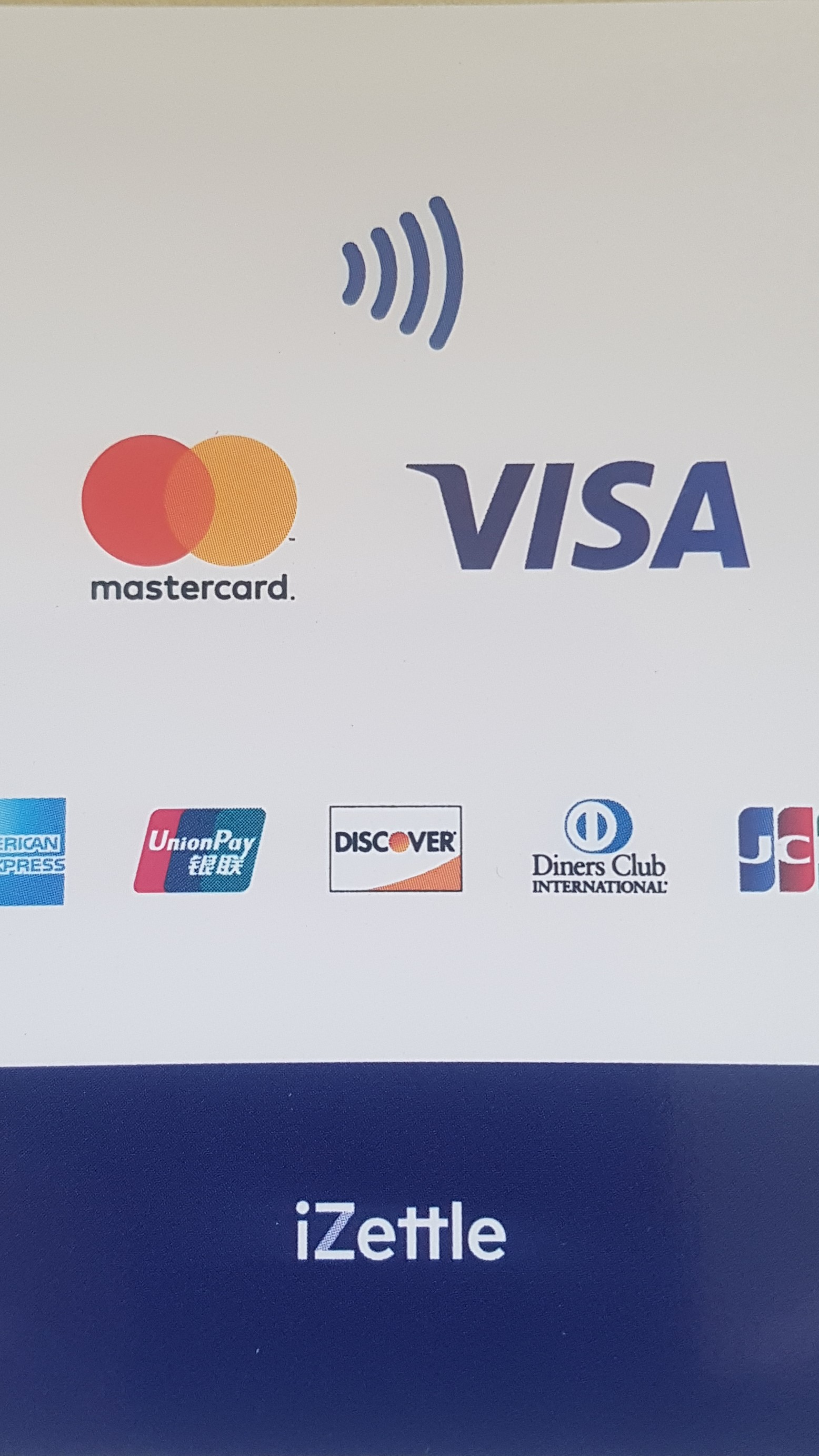 VISA and card payments Logo